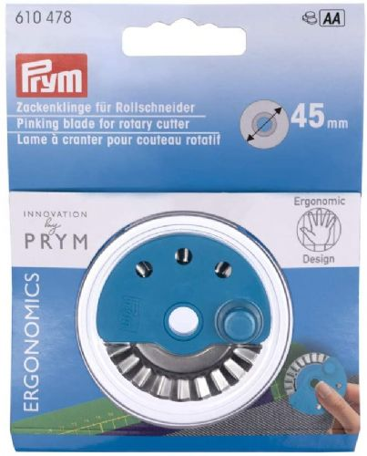 Prym Pinking blade for rotary cutter Ergonomics 45 mm